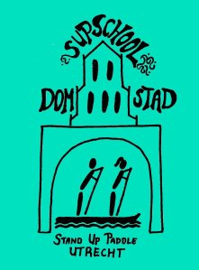 logo kleur SUP school Domstad met tekst
