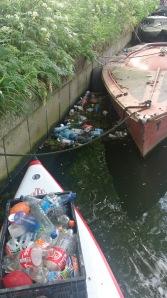 plastic in Utrechts water
